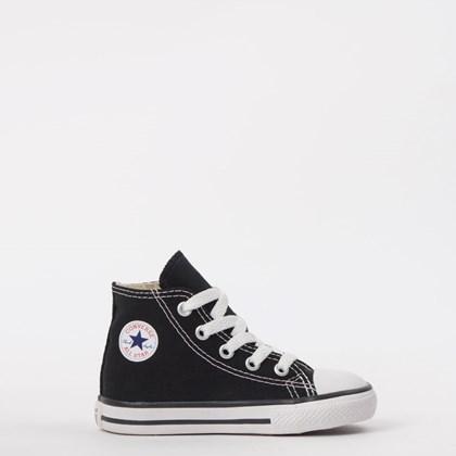 Tênis Converse Chuck Taylor All Star Kids Hi Preto CK00030002