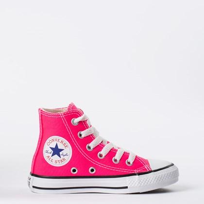 Tênis Converse Chuck Taylor All Star Kids Hi Rosa Choque CK04280031