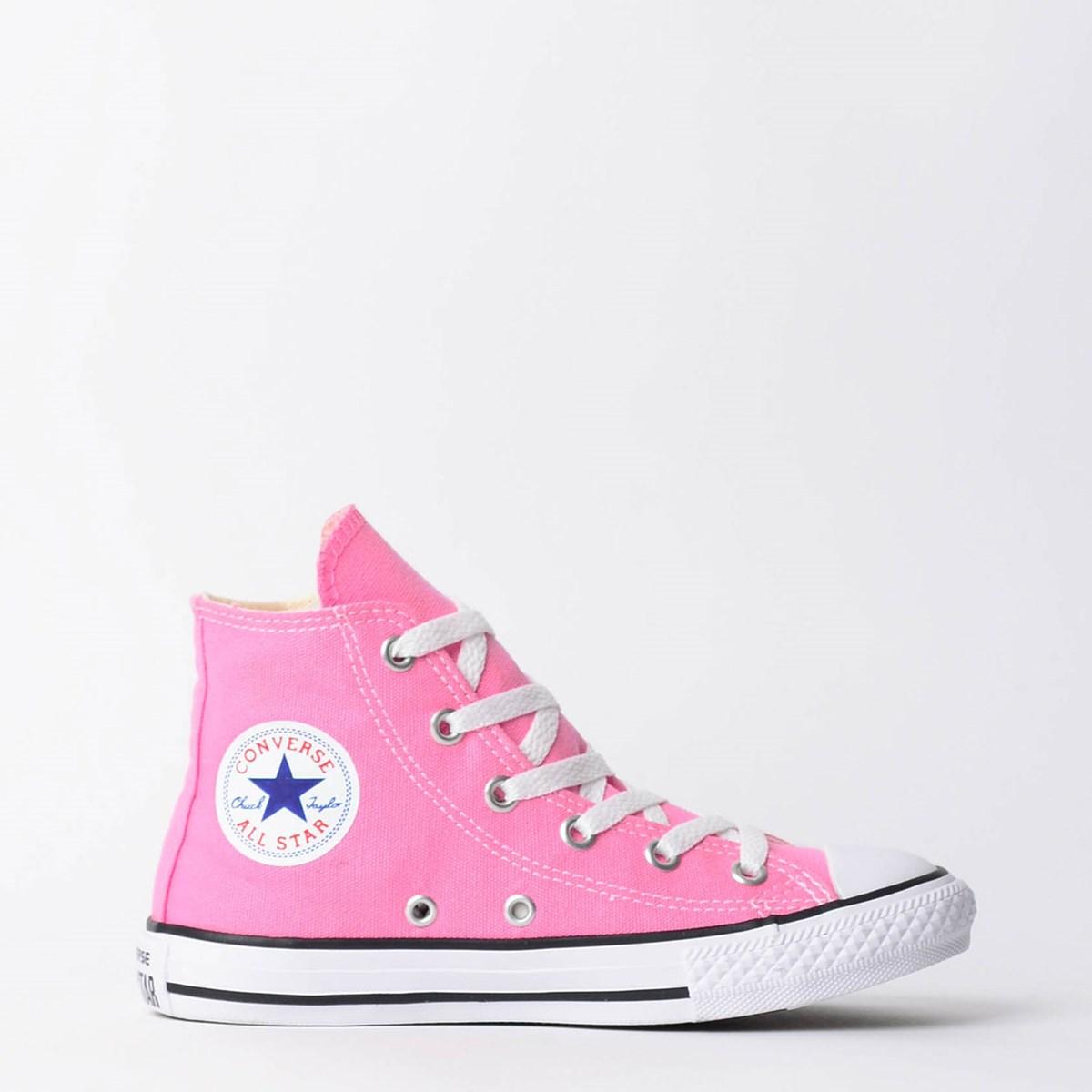 Tênis Converse Chuck Taylor All Star Kids Hi Rosa CK00040006