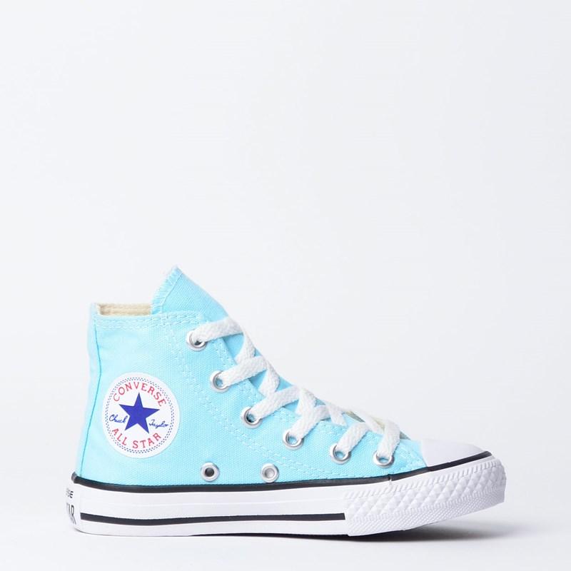 Tênis Converse Chuck Taylor All Star Kids Hi Verde Agua CK04280012
