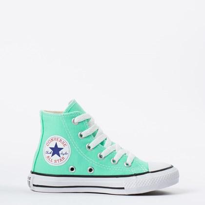 Tênis Converse Chuck Taylor All Star Kids Hi Verde Brilhante CK04280030