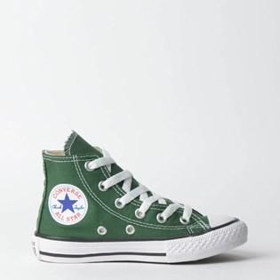 Tênis Converse Chuck Taylor All Star Kids Hi Verde Floresta CK04280016 ... d970602c7e7