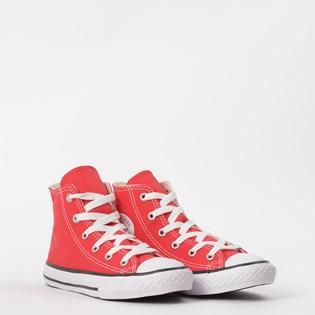 Tênis Converse Chuck Taylor All Star Kids Hi Vermelho CK00040004
