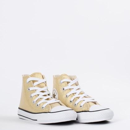 Tênis Converse Chuck Taylor All Star Kids Ouro Preto CK08790002