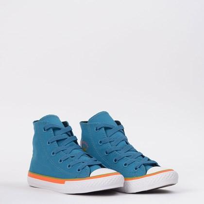 Tênis Converse Chuck Taylor All Star Kids Ox Azul Musgo CK08540002
