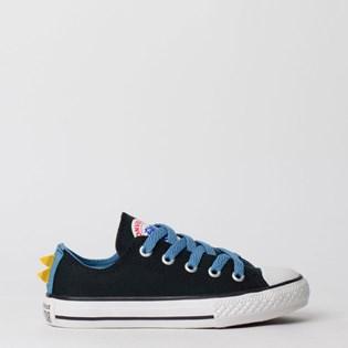 Tênis Converse Chuck Taylor All Star Kids Ox Preto Azul Escuro CK07520001