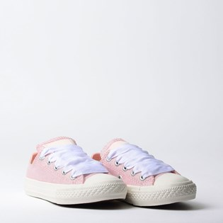 Tênis Converse Chuck Taylor All Star Kids Ox Rosa Escuro CK06030002