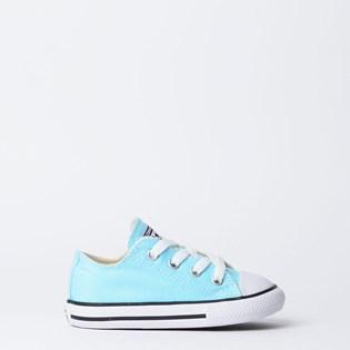 Tênis Converse Chuck Taylor All Star Kids Ox Verde Agua CK04310012 ... fbb6f4bb8b6