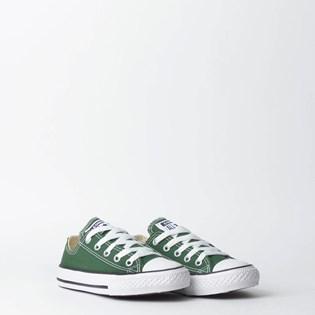 Tênis Converse Chuck Taylor All Star Kids Ox Verde Floresta CK04300016