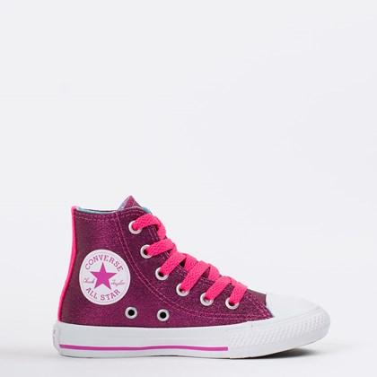 Tênis Converse Chuck Taylor All Star Kids Rosa Choque CK09030002