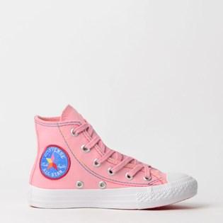 Tênis Converse Chuck Taylor All Star Kids Rosa Salmao CK07690001