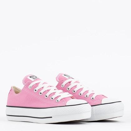 Tênis Converse Chuck Taylor All Star Lift Seasonal Ox Rosa Flamingo CT09630036