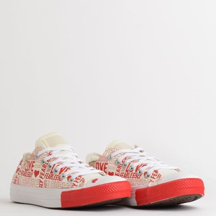 Tênis Converse Chuck Taylor All Star Love Fearlessly Ox Amendoa CT13570001