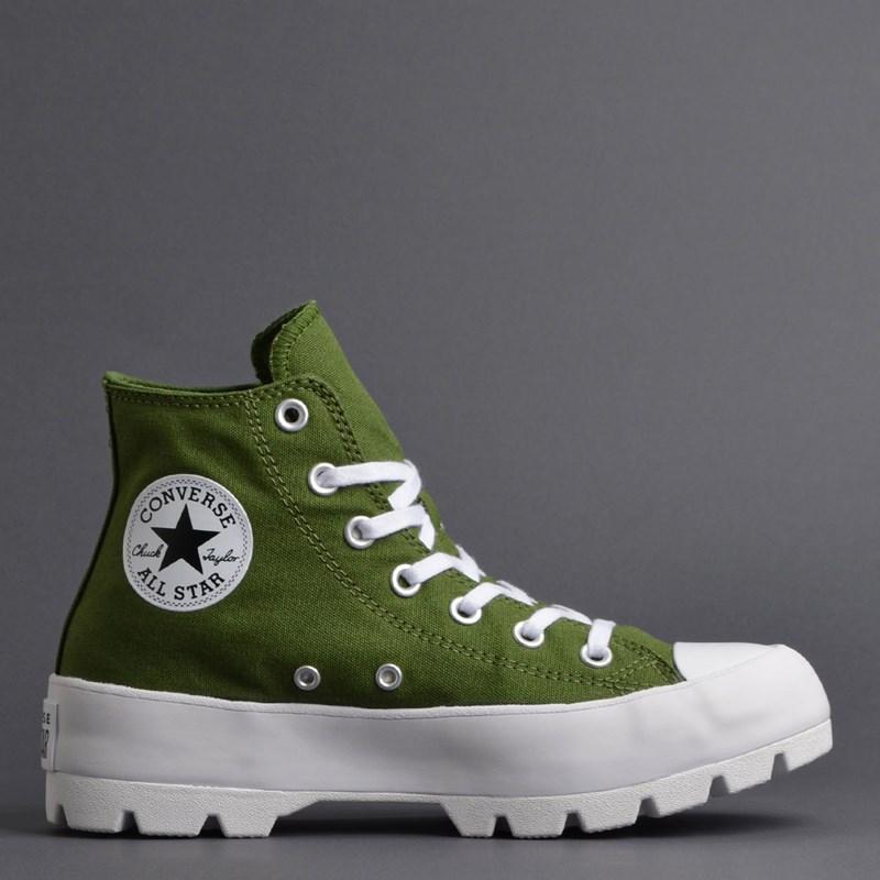 Tênis Converse Chuck Taylor All Star Lugged Hi Cypress Green Black 567163C