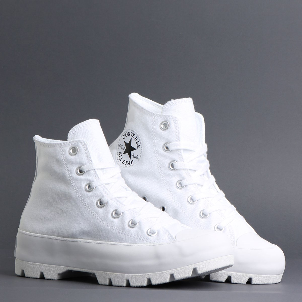 Tênis Converse Chuck Taylor All Star Lugged Hi White Black 565902C