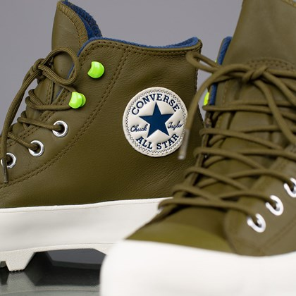 Tênis Converse Chuck Taylor All Star Lugged Winter Mountain Club Hi Dark Moss Navy 568764C