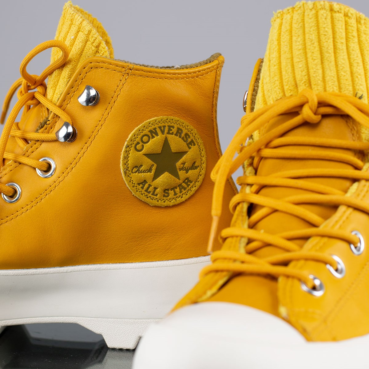 Tênis Converse Chuck Taylor All Star Lugged Winter Mountain Hi Gold Dart Olive Flak 565005C