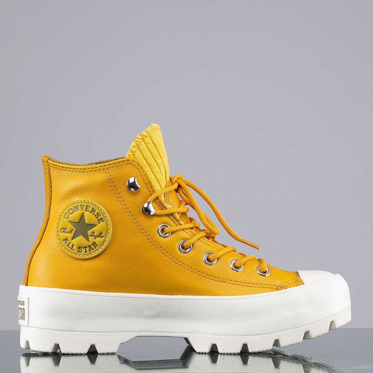 Tênis Converse Chuck Taylor All Star Lugged Winter Mountain Hi Gold Dart Olive Flak 565005C