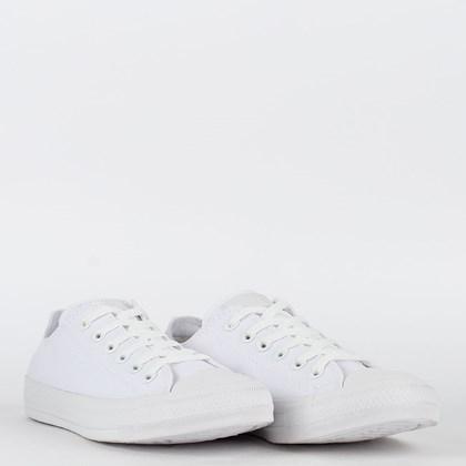 Tênis Converse Chuck Taylor All Star Monochrome Ox Branco Branco CT04460001