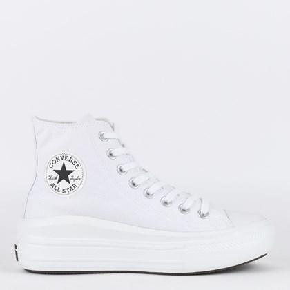 Tênis Converse Chuck Taylor All Star Move Hi Branco Branco CT15460002