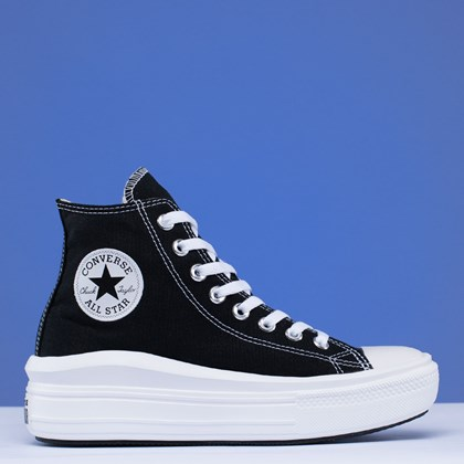 Tênis Converse Chuck Taylor All Star Move Mix And Match Hi Black Natural Ivory 568497C