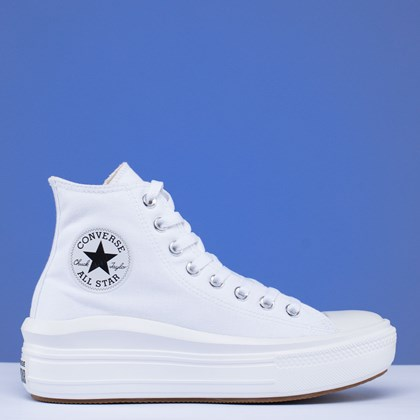 Tênis Converse Chuck Taylor All Star Move Mix and Match Hi White Natural Ivory 568498C