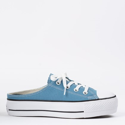 Tênis Converse Chuck Taylor All Star Mule Platform Lift Azul Escuro CT17330001