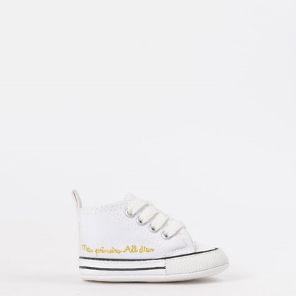 Tênis Converse Chuck Taylor All Star My First All Star Kids Branco Branco CK04400003
