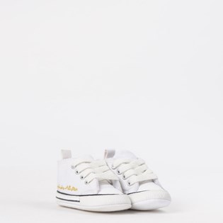 9e6547ec770 ... Tênis Converse Chuck Taylor All Star My Fisrt All Star Kids Branco  Branco CK04400003