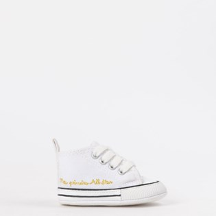 2d1a5590652 Tênis Converse Chuck Taylor All Star My Fisrt All Star Kids Branco Branco  CK04400003 ...