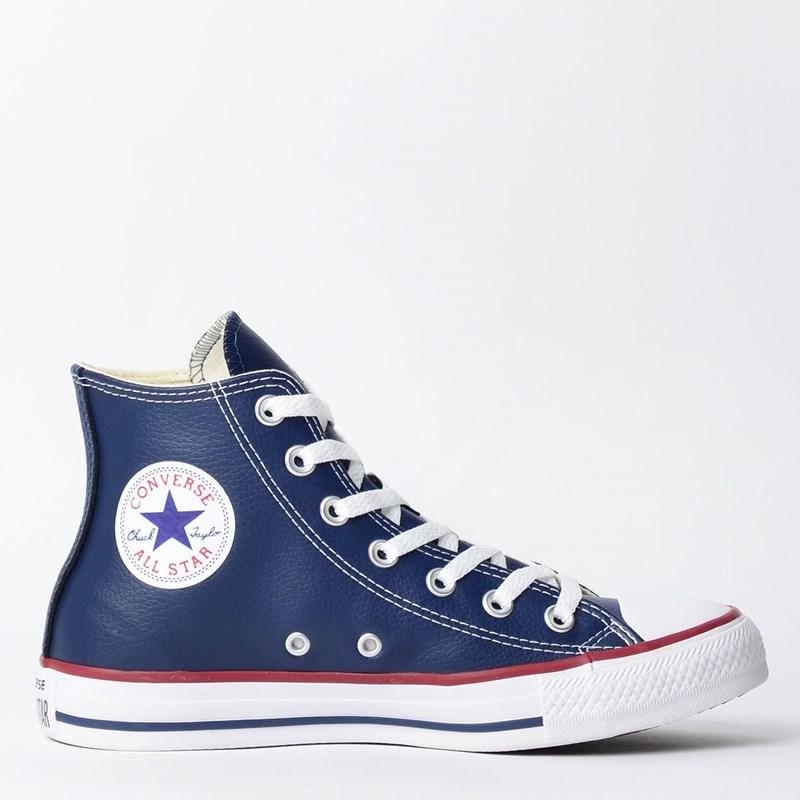 Tênis Converse Chuck Taylor All Star New Malden Hi Marinho Vermelho CT04510002