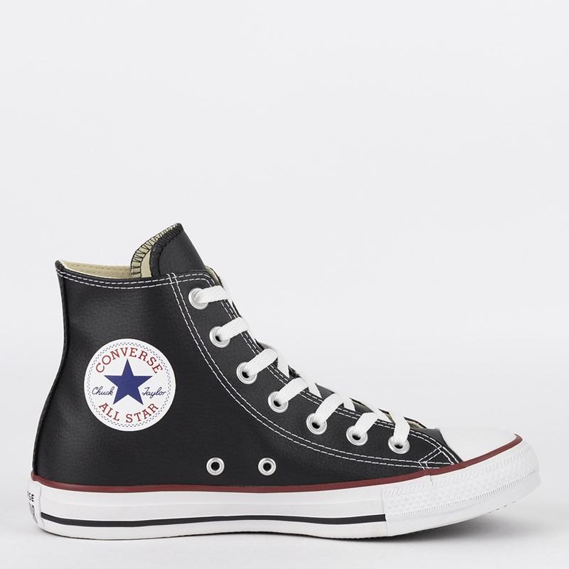 Tênis Converse Chuck Taylor All Star New Malden Hi Preto Vermelho CT04510002 cb6c51b617f41