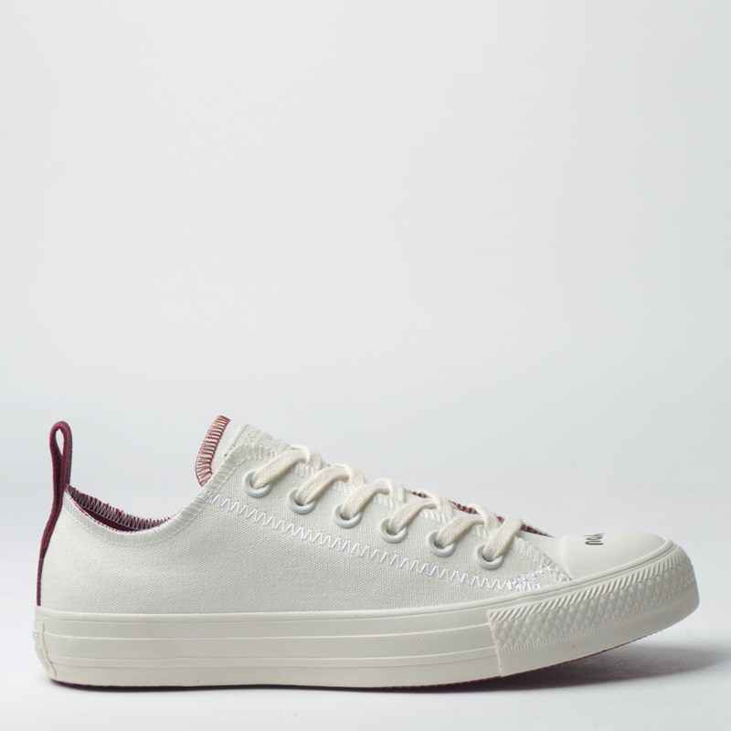 Tênis Converse Chuck Taylor All Star Ox Amendoa Bordo CT12590001