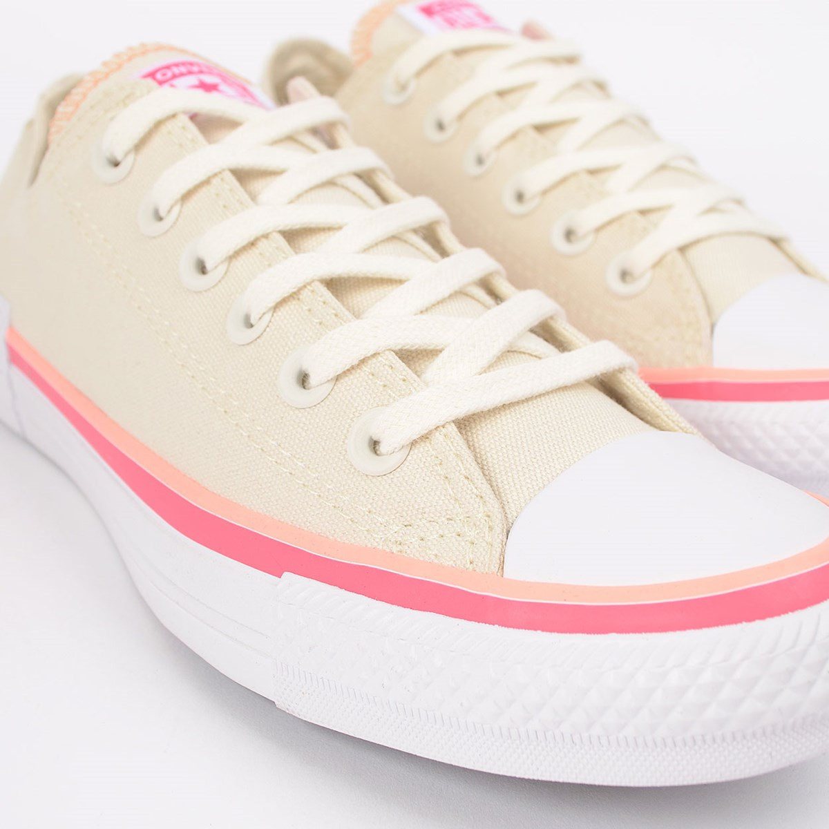 Tênis Converse Chuck Taylor All Star Ox Bege Claro CT14710001