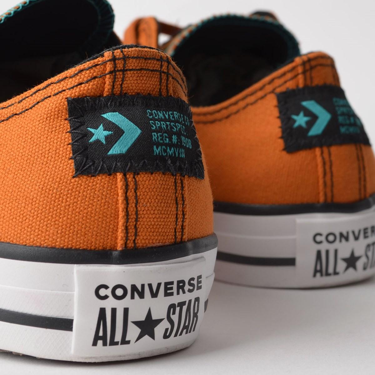 Tênis Converse Chuck Taylor All Star Ox Ferrugem CT12890001