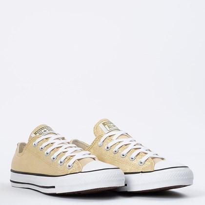 Tênis Converse Chuck Taylor All Star Ox Ouro Preto CT14630002