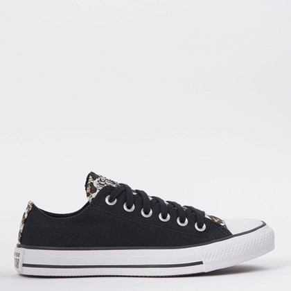Tênis Converse Chuck Taylor All Star Ox Preto Amendoa CT14680001