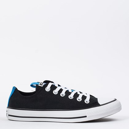 Tênis Converse Chuck Taylor All Star Ox Preto Azul Digital CT15650001