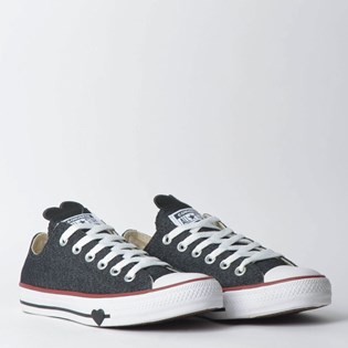 Tênis Converse Chuck Taylor All Star Ox Preto Branco CT09890002