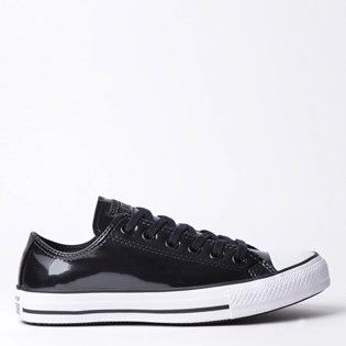 Tênis Converse Chuck Taylor All Star Ox Preto Branco CT11990003