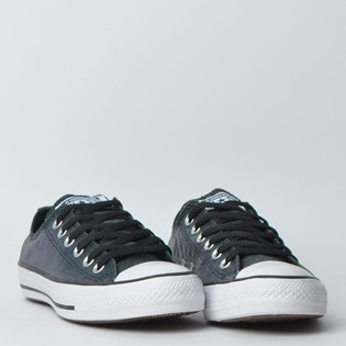 Tênis Converse Chuck Taylor All Star Ox Preto Branco CT12060001