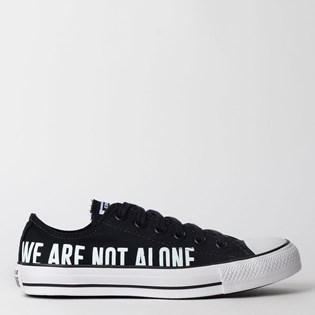 Tênis Converse Chuck Taylor All Star Ox Preto Branco CT12260001