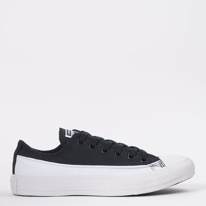 Tênis Converse Chuck Taylor All Star Ox Preto Branco CT14780001