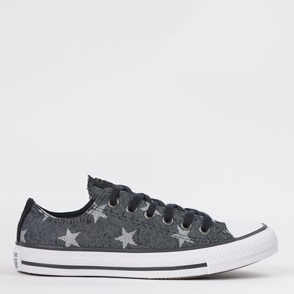 Tênis Converse Chuck Taylor All Star Ox Preto CT13900002