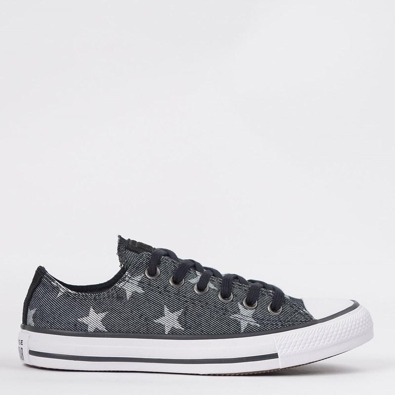 Tênis Converse Chuck Taylor All Star Ox Preto CT13900002