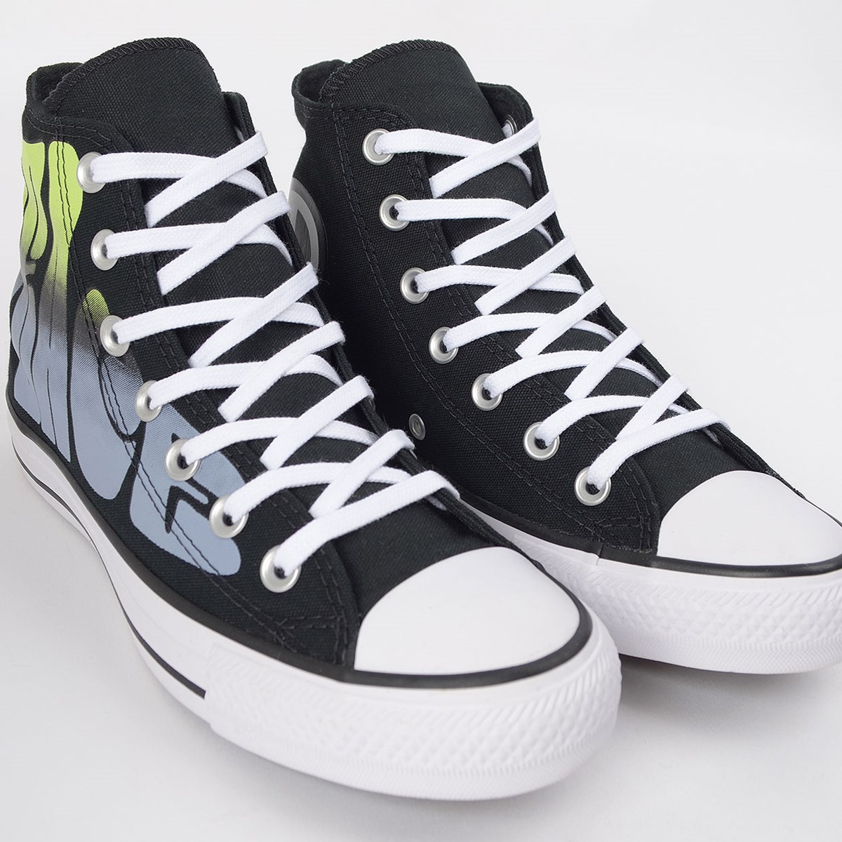 Tênis Converse Chuck Taylor All Star Peace Hi Preto CT14360001
