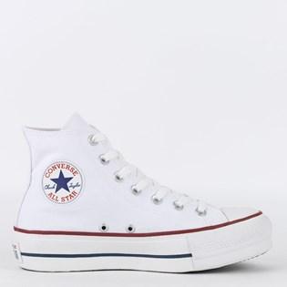 Tênis Converse Chuck Taylor All Star Platform Hi Branco CT04940003