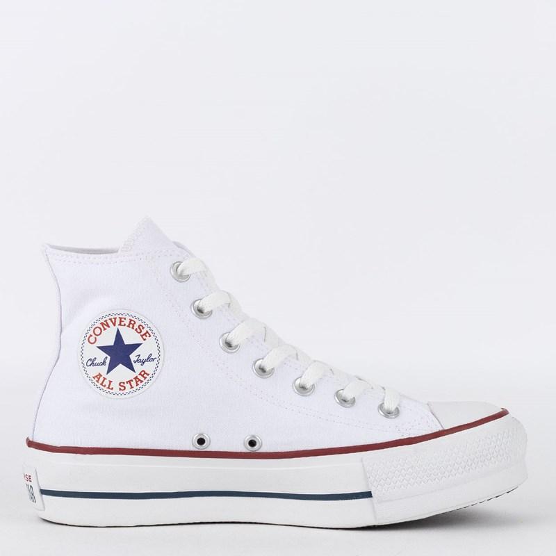 6fac921126 Tênis Converse Chuck Taylor All Star Platform Hi Branco CT04940003 ...