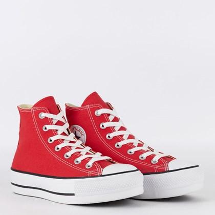 Tênis Converse Chuck Taylor All Star Platform Hi Vermelho CT04940002