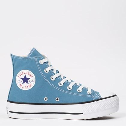 Tênis Converse Chuck Taylor All Star Platform Lift Hi Azul Escuro CT12000029